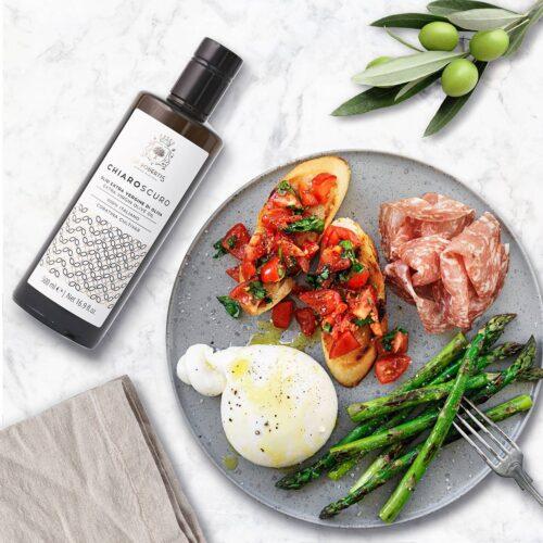 De Robertis Extra Virgin Olive Oil Bruschetta Burrata
